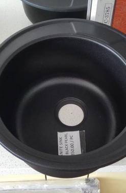 GRANITE SINK 8301 BLACK PEARL RM350